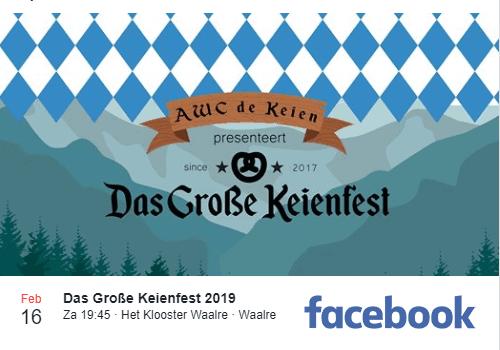 Voorbereiding Das Große Keienfest 2019 gestart