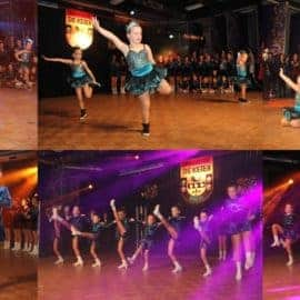 Dansgardes dansen tijdens prinsenbal
