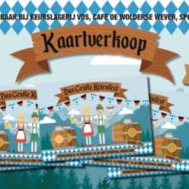 Start voorverkoop Das Groβe Keienfest