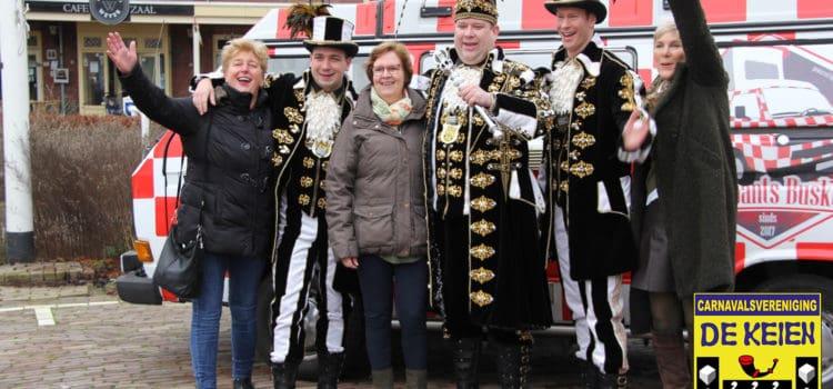 Brabants Buske kwam langs voor Prins Ruud d'n Urste en zijn adjudanten