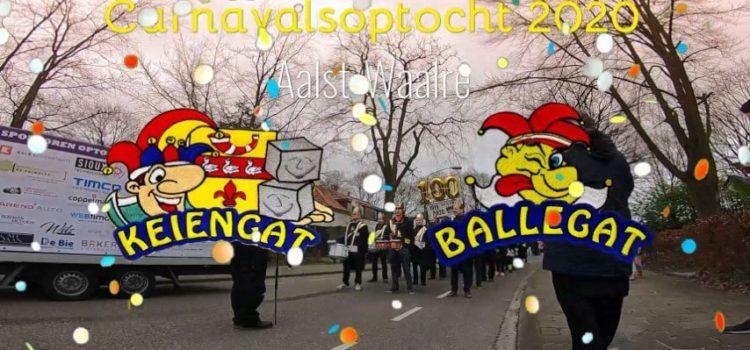Carnavalsoptocht van Ballegat naar Keiengat 2020