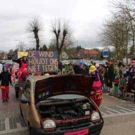 Vrijdag 6 maart Carnavalsoptocht prijsuitreiking/evaluatie