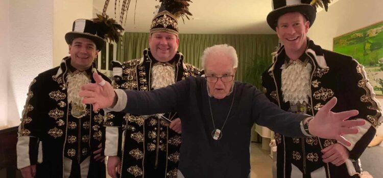 Erelid en oudprins Jaap van den Eerden overleden