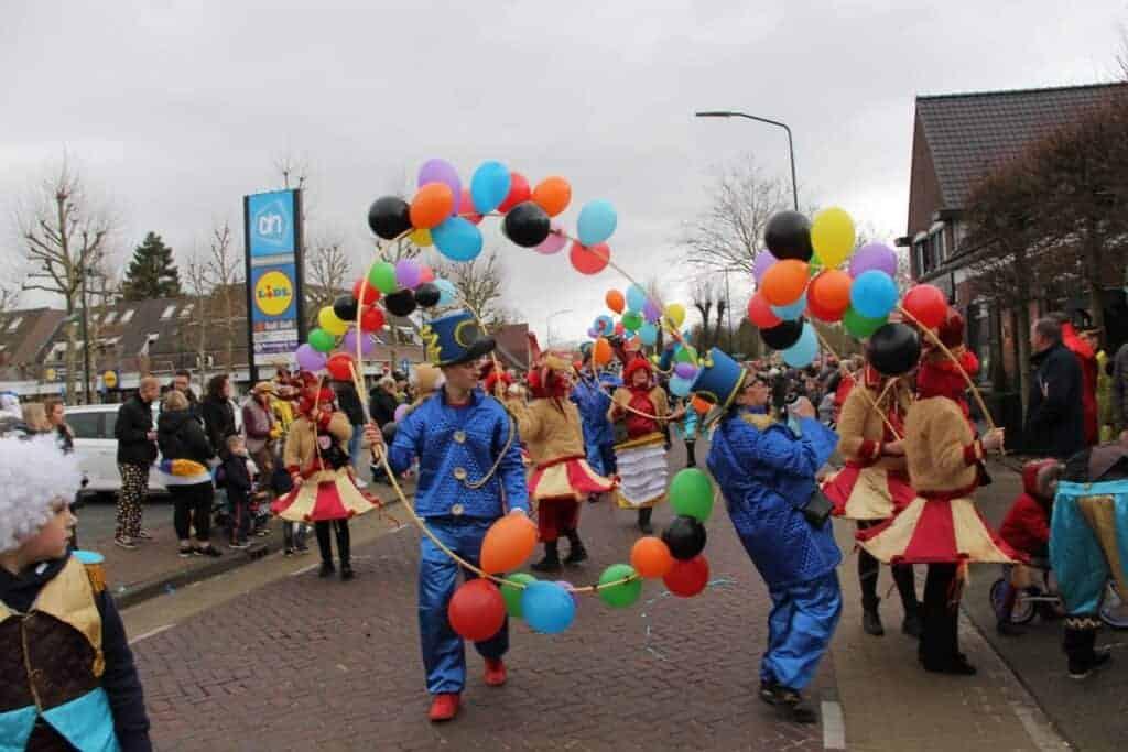 Carnaval in betere tijden Optocht 2020